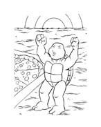 Tartarughe ninja da colorare 108