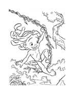 Tarzan da colorare 27
