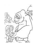 Tarzan da colorare 40