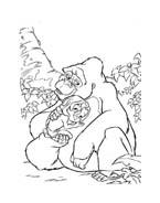 Tarzan da colorare 41