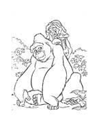 Tarzan da colorare 42
