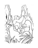 Tarzan da colorare 49