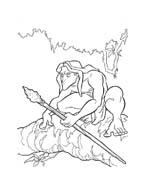 Tarzan da colorare 57