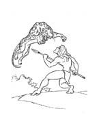 Tarzan da colorare 58