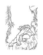 Tarzan da colorare 62