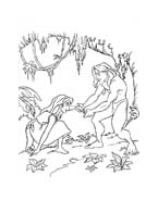 Tarzan da colorare 81