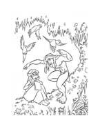 Tarzan da colorare 83