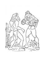 Tarzan da colorare 85