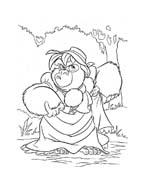 Tarzan da colorare 88