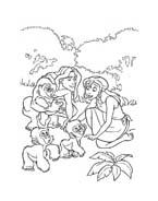 Tarzan da colorare 91