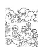 Tarzan da colorare 93