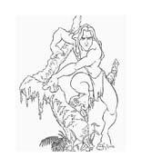 Tarzan da colorare 105