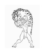 Tarzan da colorare 110