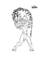Tarzan da colorare 152