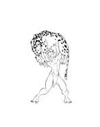 Tarzan da colorare 164