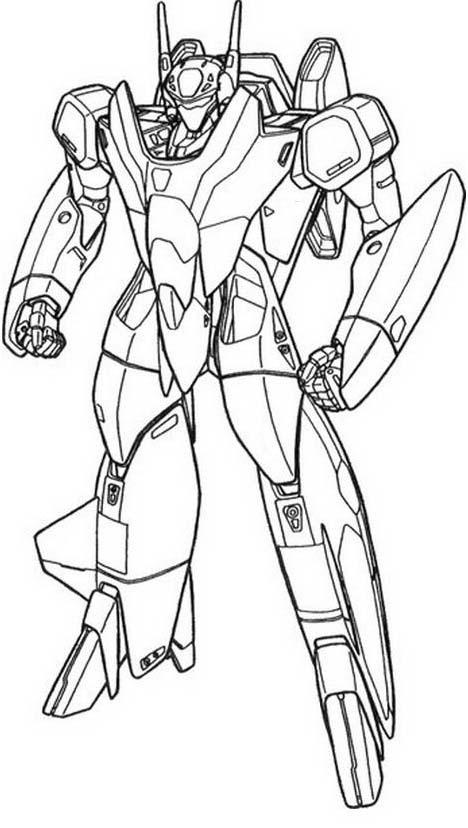Transformers da colorare 7
