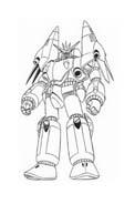 Transformers da colorare 9