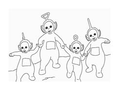 Teletubbies da colorare 29