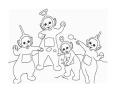 Teletubbies da colorare 37