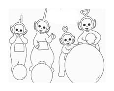 Teletubbies da colorare 39