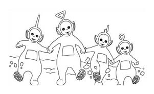 Teletubbies da colorare 41