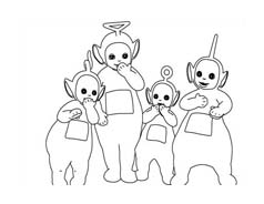 Teletubbies da colorare 44