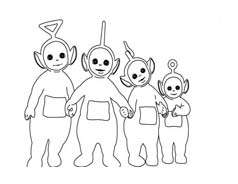 Teletubbies da colorare 53