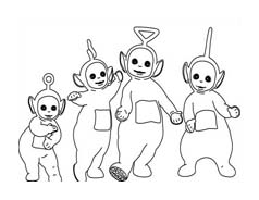 Teletubbies da colorare 55