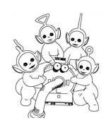 Teletubbies da colorare 61