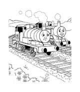 Trenino-thomas da colorare 7