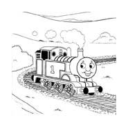 Trenino-thomas da colorare 10
