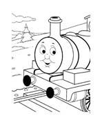 Trenino-thomas da colorare 11