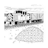 Trenino-thomas da colorare 16