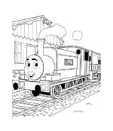 Trenino-thomas da colorare 18