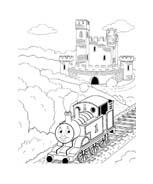 Trenino-thomas da colorare 19