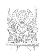Thor da colorare 2