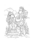 Thor da colorare 6