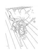Thor da colorare 7