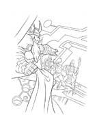 Thor da colorare 13