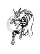 Thor da colorare 36