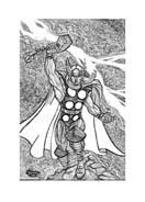 Thor da colorare 38
