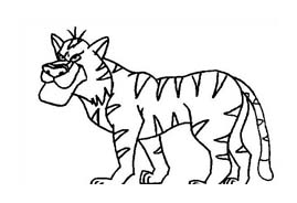 Tigre da colorare 61