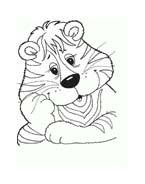 Tigre da colorare 62