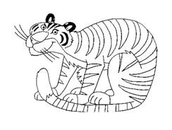 Tigre da colorare 68