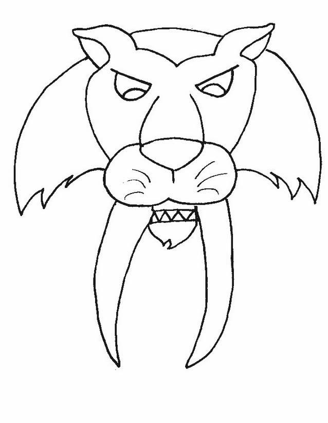 Tigre da colorare 69