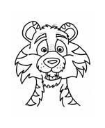 Tigre da colorare 70