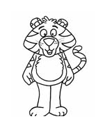 Tigre da colorare 71