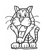 Tigre da colorare 72
