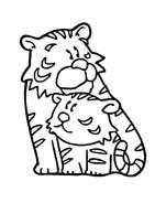 Tigre da colorare 73