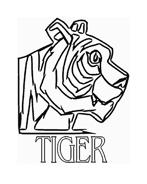 Tigre da colorare 74